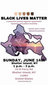 Black Lives Matter Shelter Island