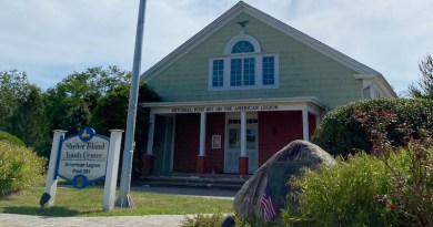 The Shelter Island Youth Center, in its American Legion Hall, has been the island's early voting site for the past two years.