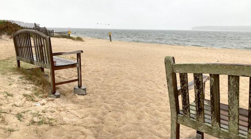 New Suffolk Beach, Wednesday morning