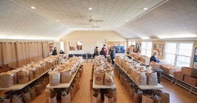 The Springs Food Pantry has seen a 300 percent increase in demand for food this year.