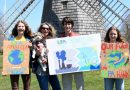Annabelle, Harry, and Olivia Roussel of Sag Harbor made signs this past spring to motivate Long Islanders to petition the state to get LIPA to change its power purchase structure.