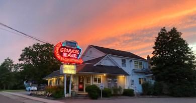Modern Snack Bar sunset