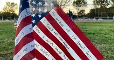 American Flag, 9-11 memorial