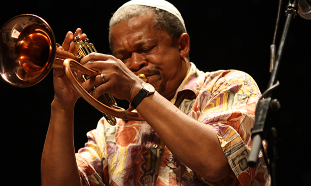 Claude Deppa on trumpet