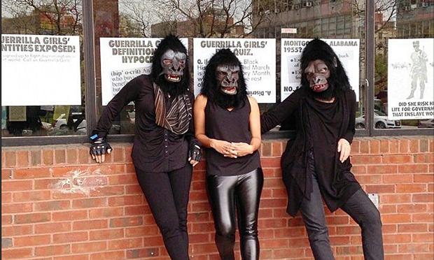 Group shot: The Guerrilla Girls
