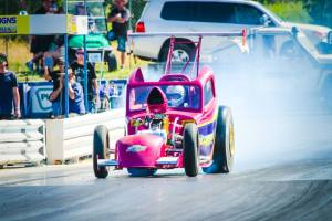 Drag Racing at Roma's Easter in the Country