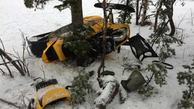 Fatal snowmobile accident in the north of the Lanaudière region