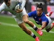 XV of France Teddy Thomas supported by Racing 92