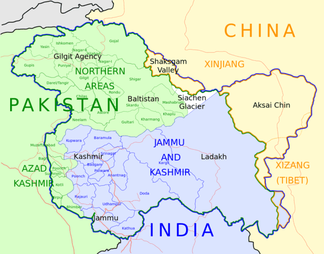 muslim world has nothing to do with kashmir