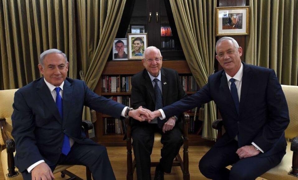 Israel - Democratic ceasefire between Netanyahu and Gantz