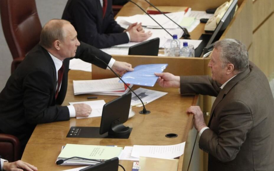 Russia : Zhirinovsky urged not to let the Russians into Europe
