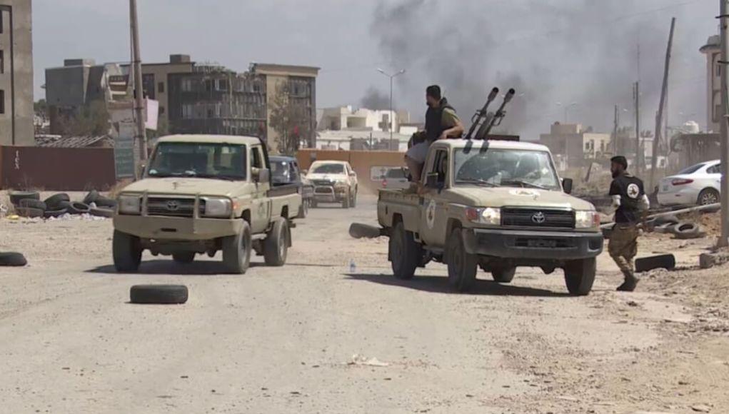 Al-Wefaq forces took control of Tripoli