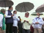 India: Minister, Parimal Suklabaidya, visits the Tikok Coal mining area in Assam. Assam, India, Tinsukia, Lockdown, Parimal Suklabaidya, Coal mining, Tinsukia district, Dihing River, Bhaskar Sharma, Coal India,
