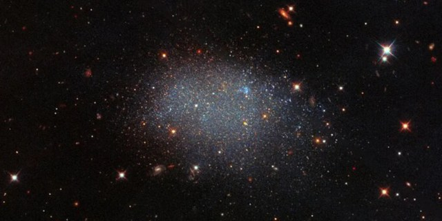Stellar Glitter in a Field of Black