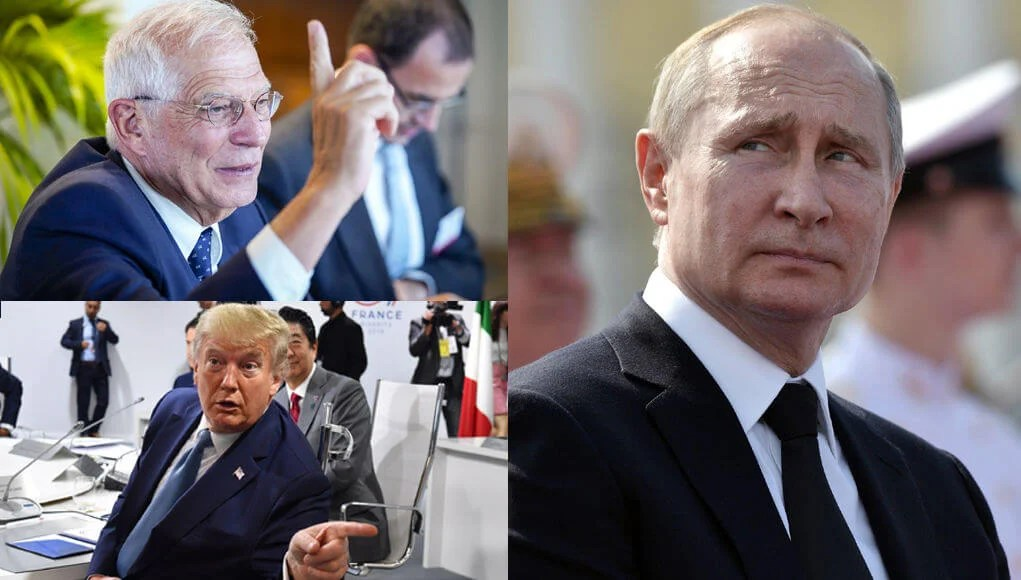 The European Union opposed the idea of trump to return Russia to the G7