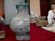 """In the ancient Chinese tomb found the """"elixir of immortality"""", Han Dynasty"""