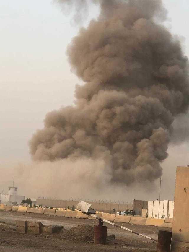 Baghdad heavy smoke fire, iraq news, middle east news, arab world, world news, breaking news, latest news; The Eastern Herald News