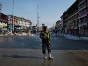 Indian kashmir article 370 attrocities army men standing, army in jammu and kashmir, article 370 abrogation, indian union government, ladakh state, union territory news, india news, kashmir news,