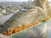A challenging task in the concrete jungle: A green skyscraper will clean cities of pollution