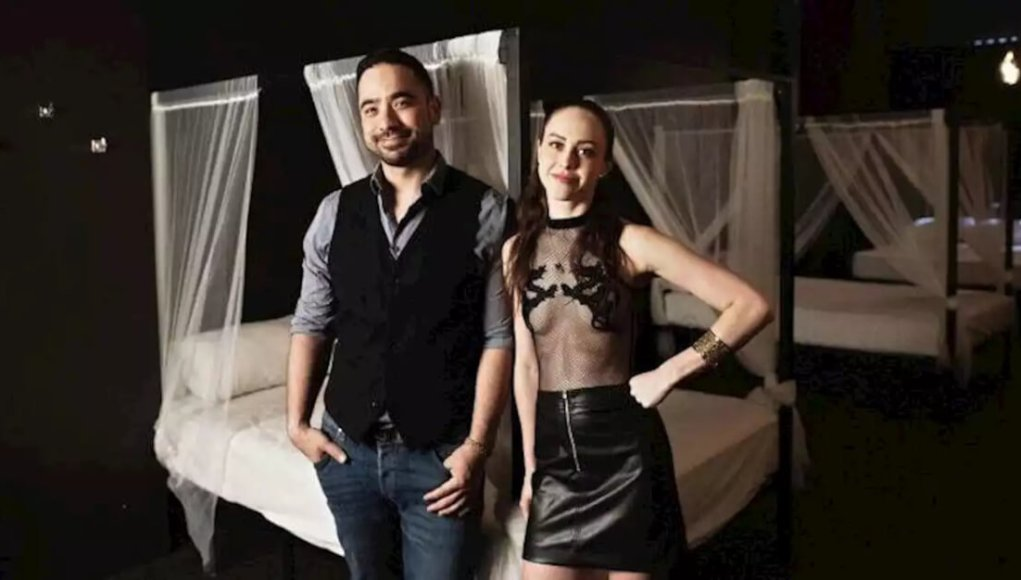 What happens behind the closed doors of the swingers club -