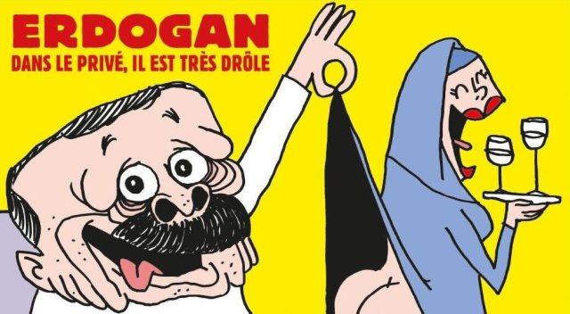 Charlie Hebdo - Recep Tayyip Erdogan
