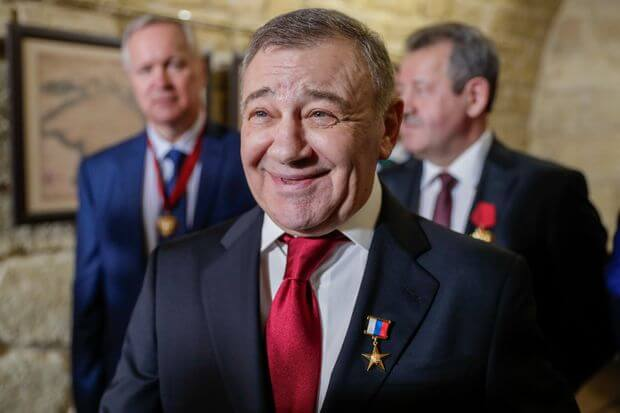 Arkady Rotenberg-Russian richest man