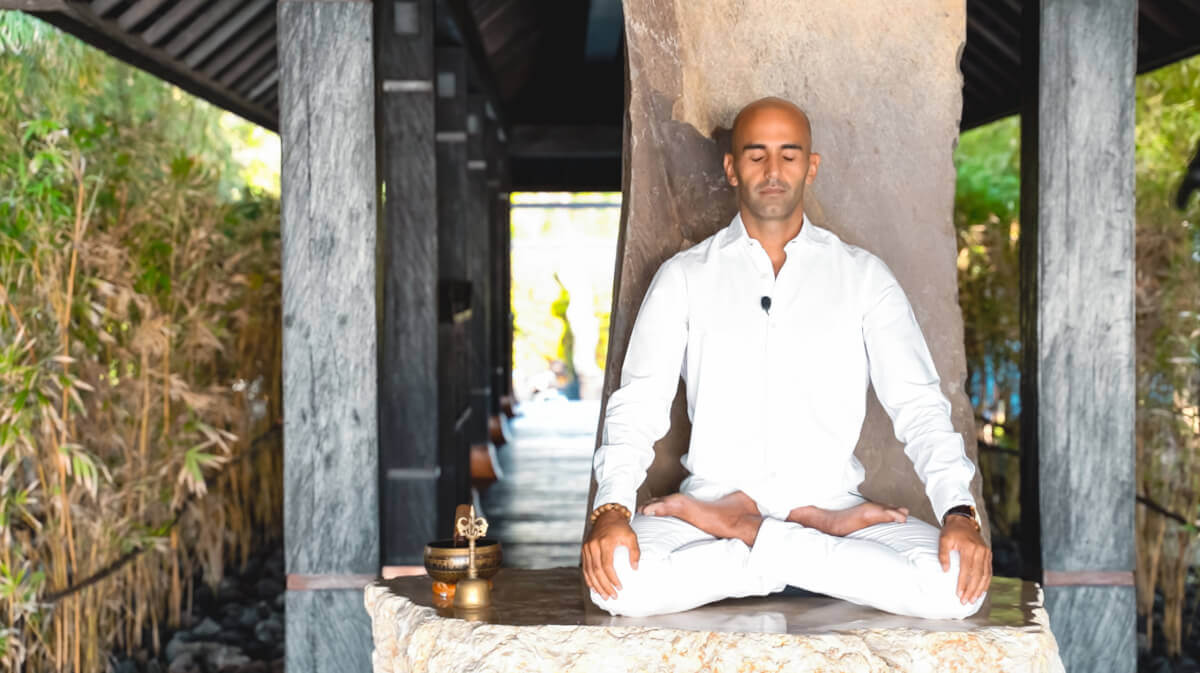 Millionaire Monk suggests Vipassana Meditation - a way out of this crisis