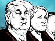 Donald Trump, Marine Le Pen, Viktor Orbán
