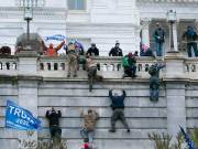 Participants in the storming of the Capitol identified as conspiracy theorists and nationalists