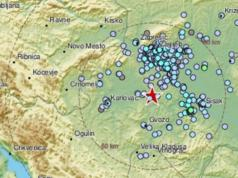 During the night, nine earthquakes near Petrinja, Croatia, the strongest was 3.1 on the Richter scale