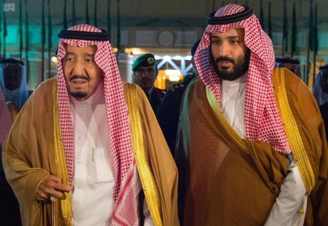 King Salman and crown prince MBS offer condolences to President El-Sisi for the victims of the Sohag trains