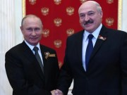 Belarus - Russia helping military leader Lukashenko remain in power