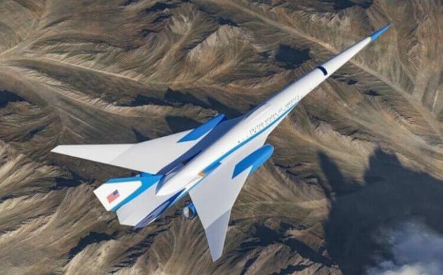 Exosonic - US President's new supersonic jet