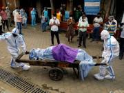 India recorded a record with more than 1,700 deaths from coronavirus in one day