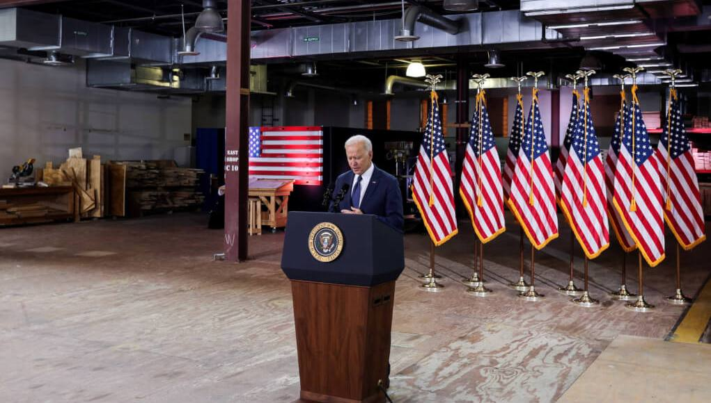 Biden officially announces his plan to improve US infrastructure