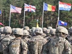 NATO wants to build up military capabilities to counter Russia