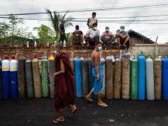 MYANMAR-HEALTH-VIRUS-FOCUS