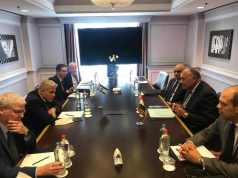EGYPT-FOREIGN-MINISTER-ISRAEL-BRUSSELS-MEETING-ARAB-WORLD