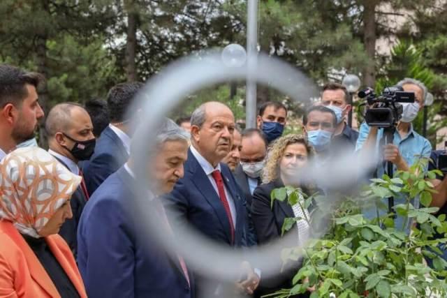 ERSIN-TATAR-CYPRIOT-CYPRUS-PRESIDENT-ANKARA-TURKEY