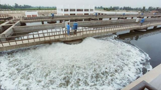 EGYPT-LARGET-WATER-TREATMENT-PLANT-WORLD-AFRICA