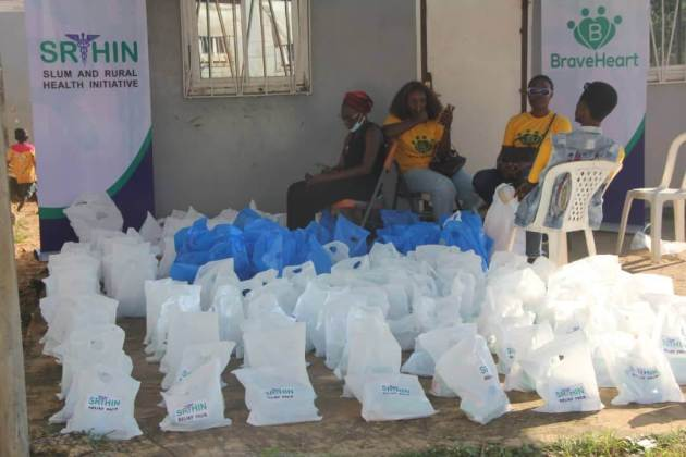 SRHIN Launches novel friendship tent and distributes relief packages to 500 residents at New Kuchingoro IDP camp, Abuja Northern Nigeria