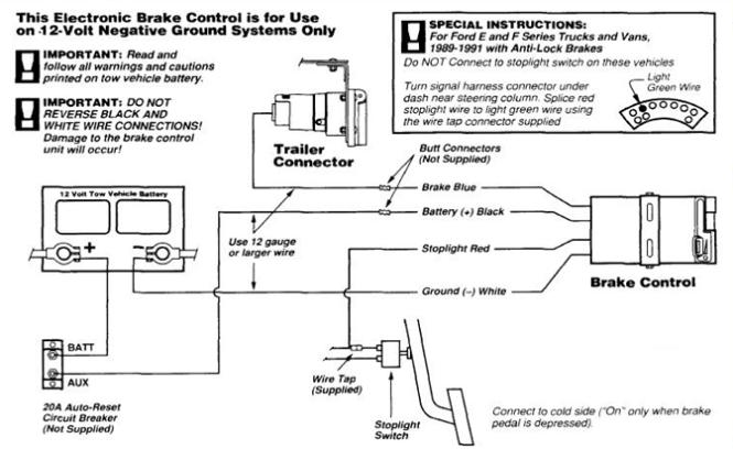 wiring diagram tekonsha p electric brake controller wiring diagram wiring diagram electric trailer brake control maker