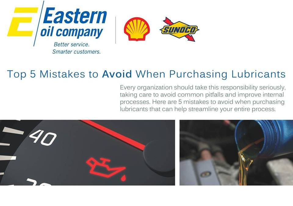 Top 5 Mistakes to Avoid When Purchasing Lubricants