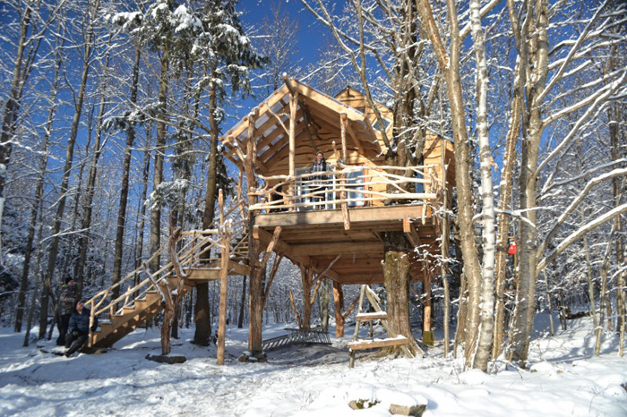 Where To Find Warm Winter Cabin Adventures