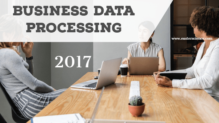 Business Data Processing-2017