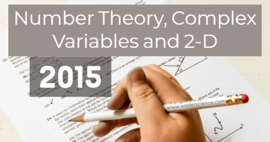 Number Theory, Complex Variables and 2-D-2015