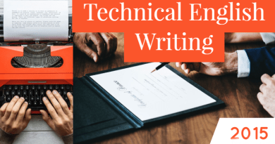 Technical English Writing-2015