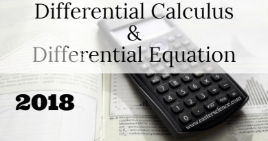 Differential Calculus and Differential Equation 2018-BSc-CS-MJPRU