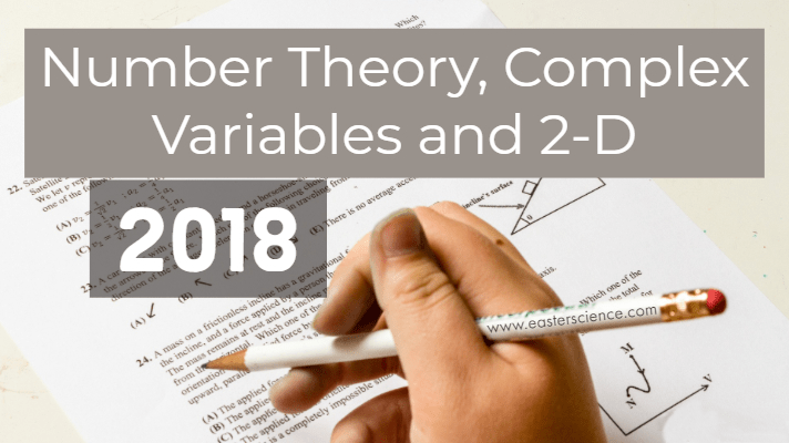 Number Theory, Complex Variables and 2-D-2018-BSc-CS-MJPRU