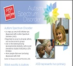 Autism Fact Sheet 2014 cover